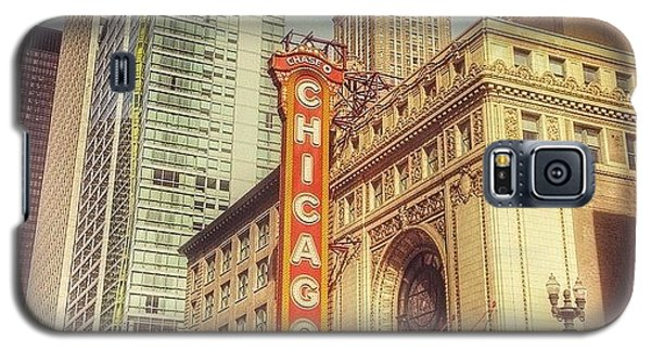 City Galaxy S5 Case - Chicago Theatre #chicago by Paul Velgos
