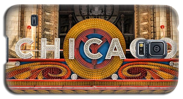 Chicago Theatre Marquee Sign Galaxy S5 Case