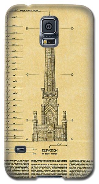 Chicago Water Tower Galaxy S5 Case by Andrew Fare
