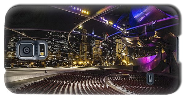 Chicago's Pritzker Pavillion With Colored Lights  Galaxy S5 Case