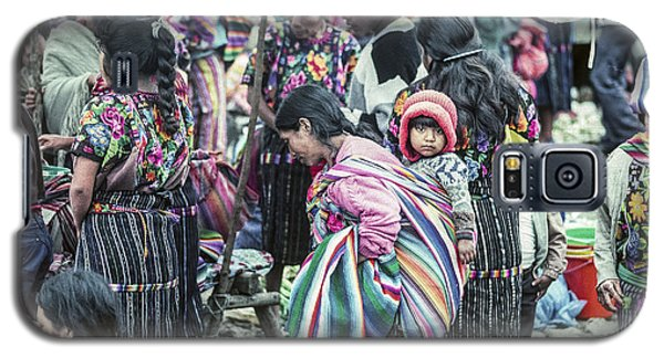Galaxy S5 Case featuring the photograph Chichi Market by Tina Manley