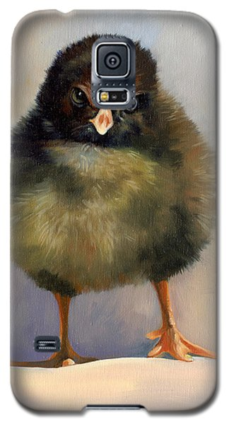 Galaxy S5 Case featuring the painting Chick With Attitude by Alecia Underhill