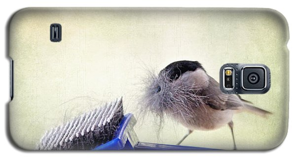 Chickadee At Work Galaxy S5 Case