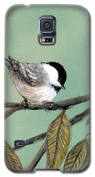 Chickadee Set 10 - Bird 1 Galaxy S5 Case