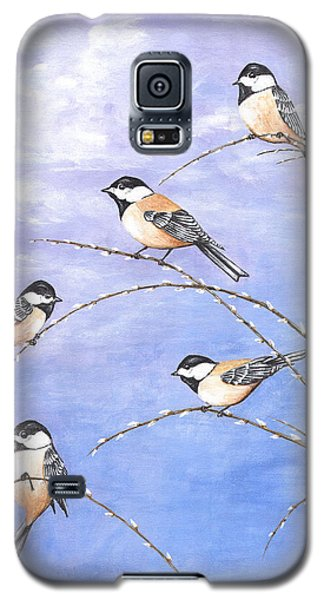 Chickadees Galaxy S5 Case
