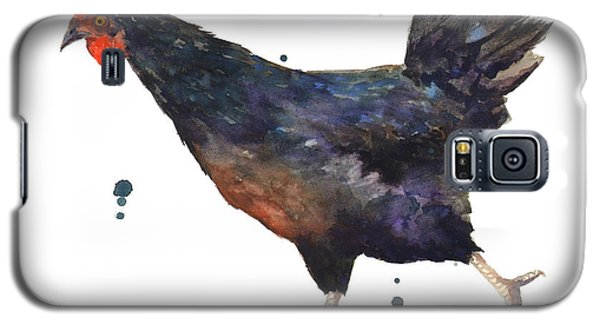 Chicken Chase Galaxy S5 Case by Alison Fennell
