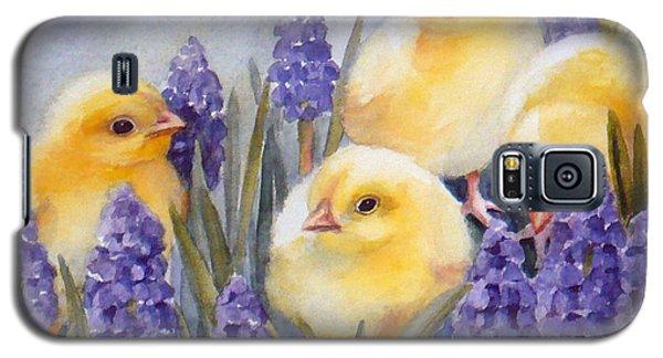 Chicks Among The Hyacinth Galaxy S5 Case