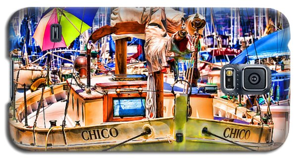 Chico Sail Boat By Diana Sainz Galaxy S5 Case