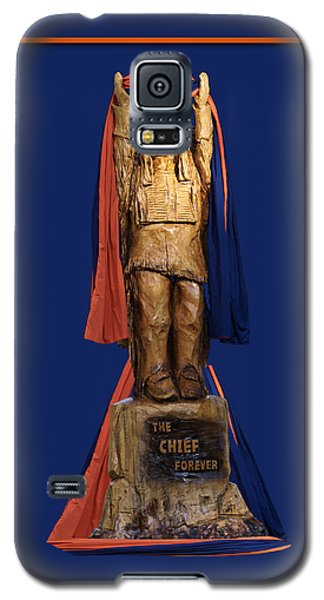 Chief Illiniwek University Of Illinois 05 Galaxy S5 Case by Thomas Woolworth
