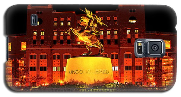 Florida State Galaxy S5 Case - Chief Osceola And Renegade Unconquered by Frank Feliciano