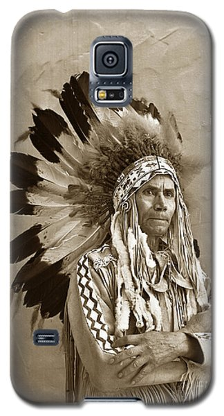 Chief Red Eagle Carmel California Circa 1940 Galaxy S5 Case