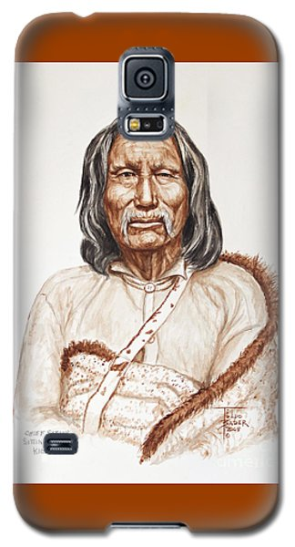 Chief Satnak - Kiowa Galaxy S5 Case
