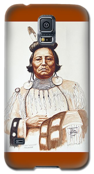 Chief Wolf Necklace Galaxy S5 Case