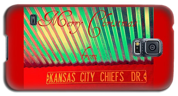 Chiefs Christmas Galaxy S5 Case