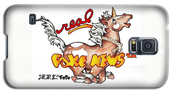 Real Fake News Fpi Foto Galaxy S5 Case by Dawn Sperry