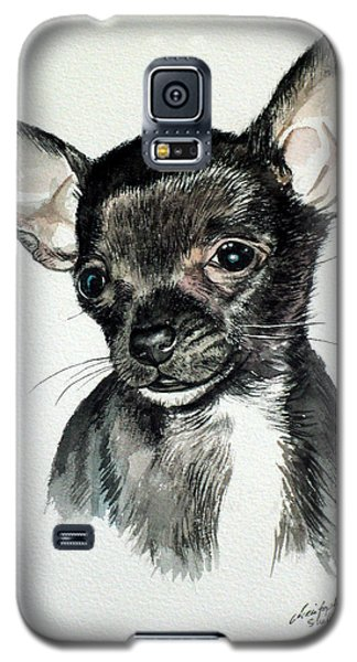 Chihuahua Black 2 Galaxy S5 Case