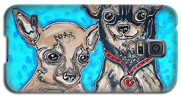 Chihuahua Duo Galaxy S5 Case