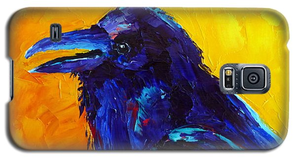 Chihuahuan Raven Galaxy S5 Case