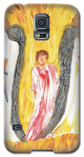 Child Being Escorted Into Heaven Galaxy S5 Case