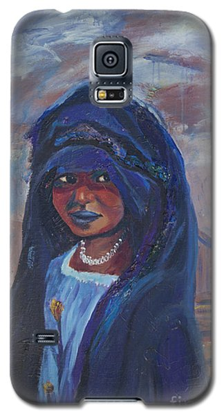 Child Bride Of The Sahara Galaxy S5 Case by Avonelle Kelsey