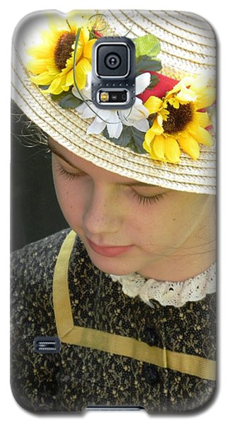 Child In Thought Galaxy S5 Case