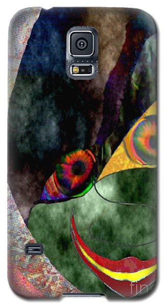 Galaxy S5 Case featuring the digital art Child With Bright Shadow - Kind Mit Lichtem Schatten by Mojo Mendiola