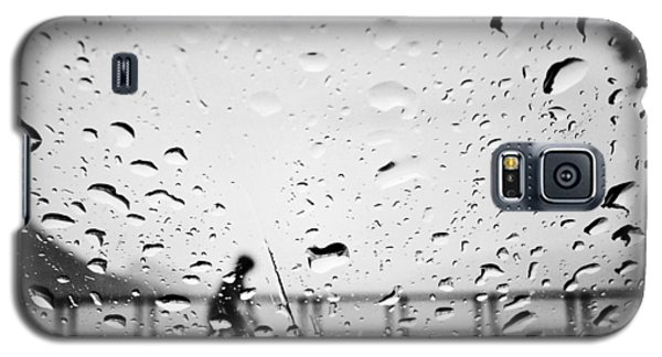 Children In Rain Galaxy S5 Case