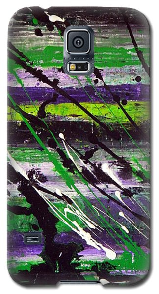 Galaxy S5 Case featuring the painting Chile Verde by Everette McMahan jr