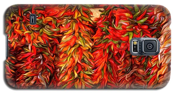 Chili Ristras Abstract Galaxy S5 Case