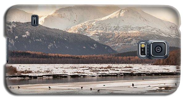 Chilkat Bald Eagle Preserve In Winter Galaxy S5 Case