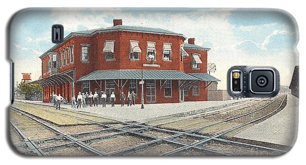 Chillicothe Ohio Railroad Depot Postcard Galaxy S5 Case