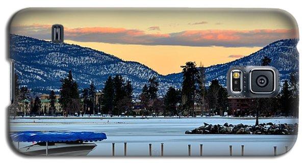 Chillingsunrise 001 Skaha Lake 02-28-2014 Galaxy S5 Case