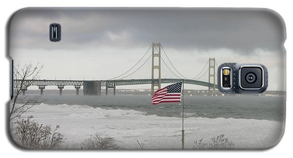 Chilly Mackinac Bridge Galaxy S5 Case