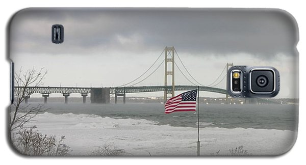 Chilly Mackinac Bridge Galaxy S5 Case