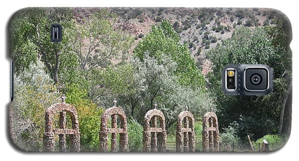 Galaxy S5 Case featuring the photograph Chimayo Sanctuary In New Mexico by Dora Sofia Caputo Photographic Art and Design