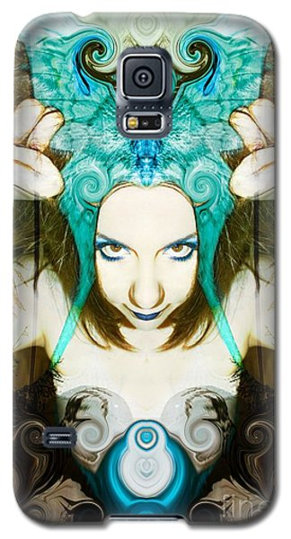 Galaxy S5 Case featuring the photograph Chimera by Heather King