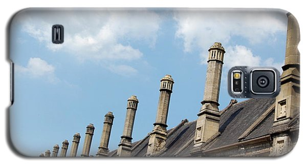 Chimney Stacks At The Ready Galaxy S5 Case by Linda Prewer