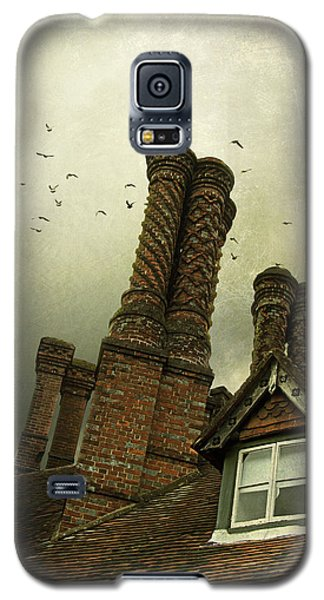 Galaxy S5 Case featuring the photograph Chimney Stacks by Ethiriel  Photography