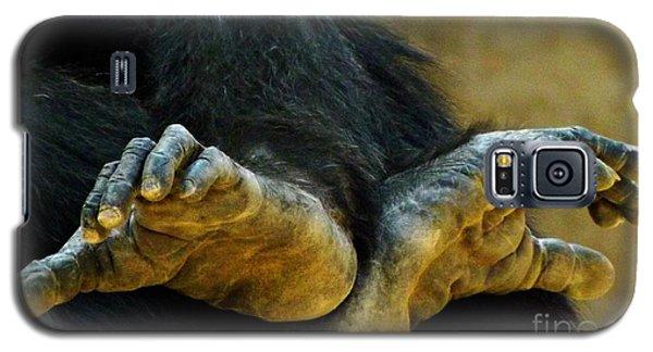 Chimpanzee Feet Galaxy S5 Case