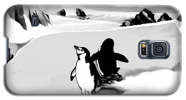 Chin Strap Penguins Galaxy S5 Case