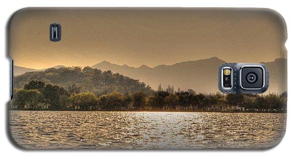 China Lake Sunset Galaxy S5 Case