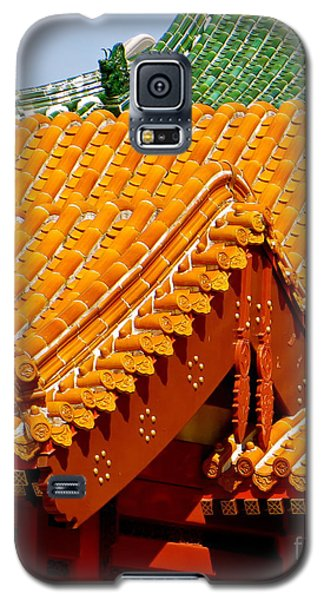 China Pavilion Galaxy S5 Case by Joy Hardee