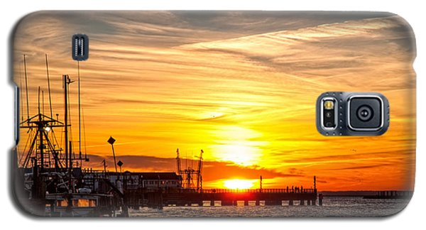 Chincoteague Bay Sunset Galaxy S5 Case
