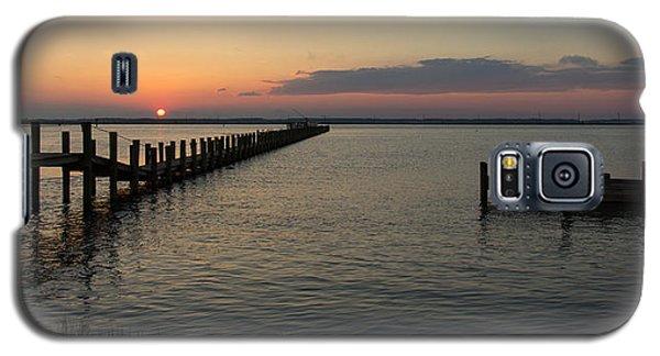 Chincoteague Island Sunset Galaxy S5 Case