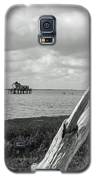 Chincoteague Oystershack Bw Vertical Galaxy S5 Case