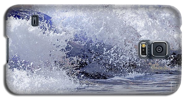 Galaxy S5 Case featuring the photograph Chincoteague Waves by Olivia Hardwicke