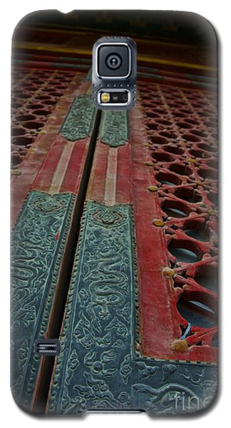 Galaxy S5 Case featuring the photograph Chinese Door  by Sarah Mullin