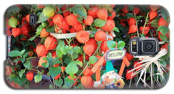 Chinese Lantern Plant Galaxy S5 Case
