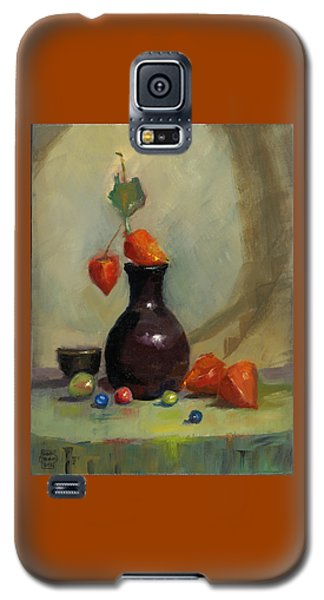 Chinese Lanterns And Marbles Galaxy S5 Case by Susan Thomas