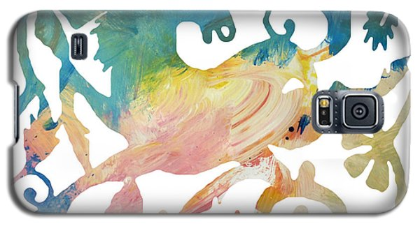 Galaxy S5 Case featuring the digital art Chinese New Year 2014 Year Of The Horse by John Fish